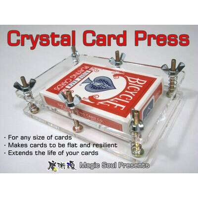 Crystal Card Press - kártyaprés
