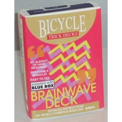 Bicycle Brainwave Deck kártya - kék