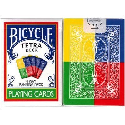 Bicycle Tetra Deck kártya, 1 csomag