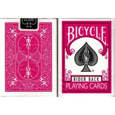 Bicycle 808 Rider Back - Fuchsia Back kártya (fukszia hátlapú), 1 csomag