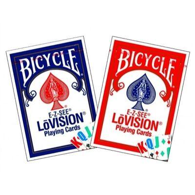 Bicycle E-Z-SEE LoVision kártya, dupla csomag