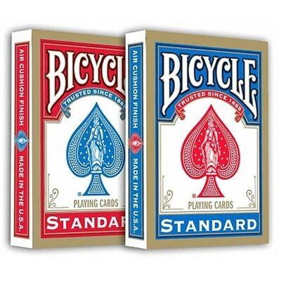 Bicycle 808 Rider Back póker kártya, dupla csomag (1 piros + 1 kék)