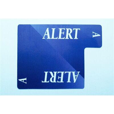 Alert Card - 100% plastic (Lion licitkártya készlethez, Alert lap)