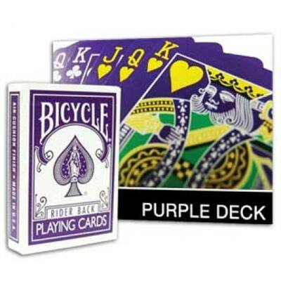Bicycle Purple Deck kártya, 1 csomag