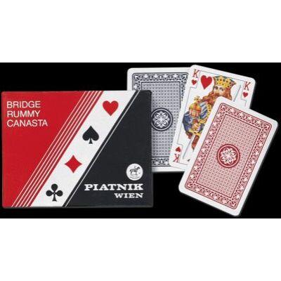 "Piatnik ""Standard Rörmi / Bild +"" kártya, dupla csomag"
