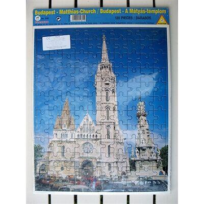 Piatnik puzzle: Mátyás templom - 120 db-os