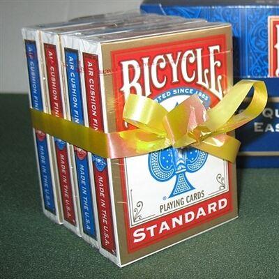 Bicycle 808 Rider Back póker kártya, 2 dupla csomag (2 piros + 2 kék)