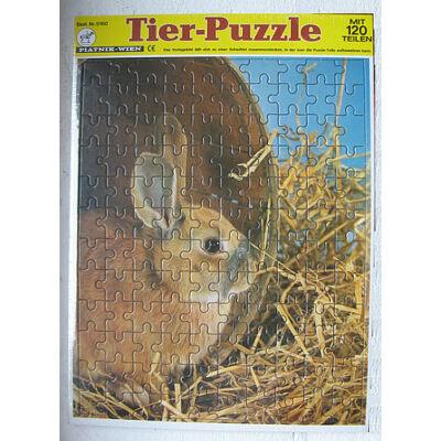 Piatnik puzzle: Állatok / Nyuszi - 120 db-os