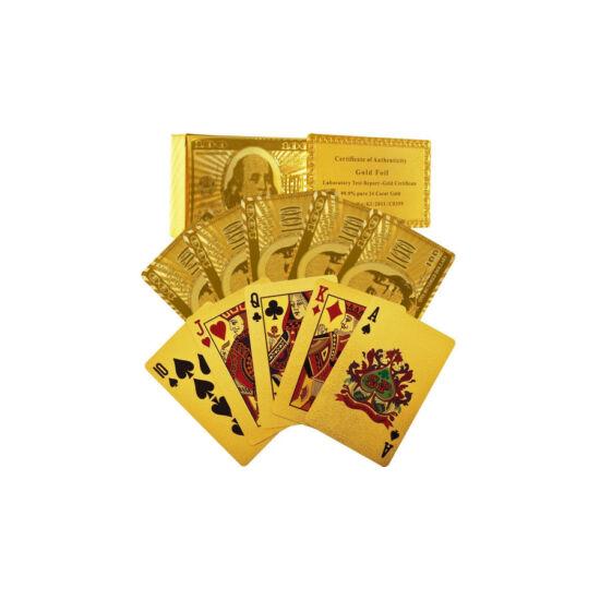 24K-os arany bevonatú kártya, 1 csomag