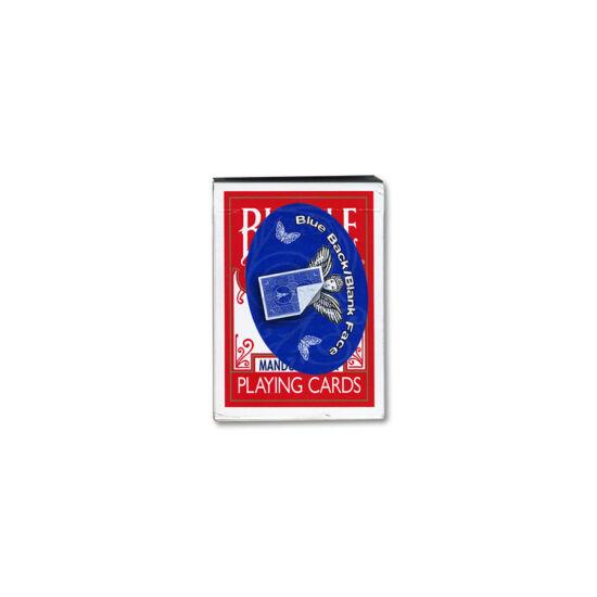 Bicycle 809 Mandolin Back kártya, üres képoldal/kék hátlap