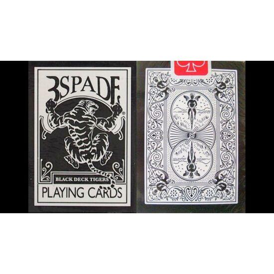 Bicycle Black Tiger Gaff Deck kártya