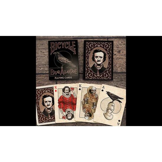 Bicycle Edgar Allan Poe kártya