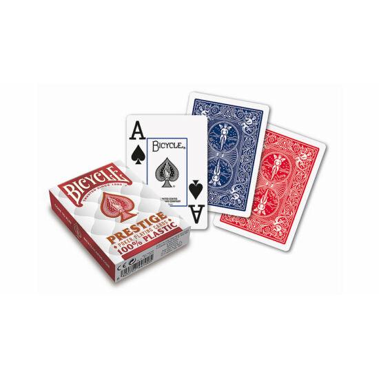 Bicycle Prestige 100% plasztik póker kártya, 1 csomag