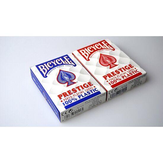 Bicycle Prestige 100% plasztik póker kártya, dupla csomag