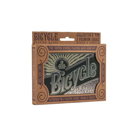 Bicycle Retro (Autocycle No. 1) Tin Gift Set