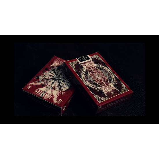 Bicycle Samurai v3 kártya, 1 csomag