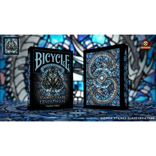 Bicycle Stained Glass Leviathan kártya