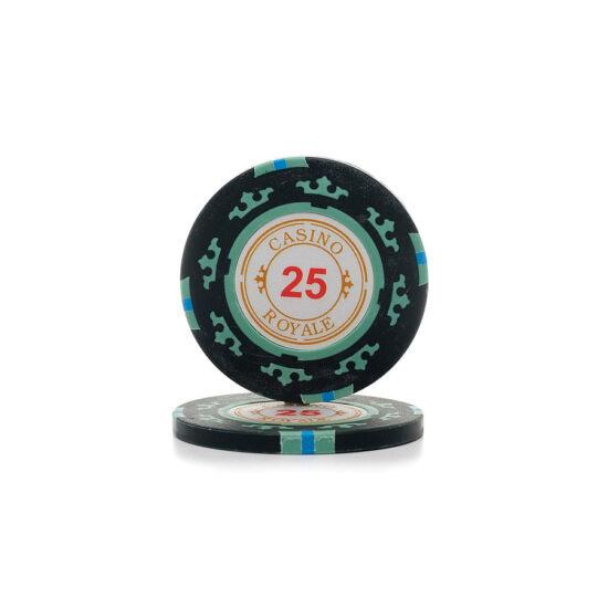 Casino Royale póker zseton, $25