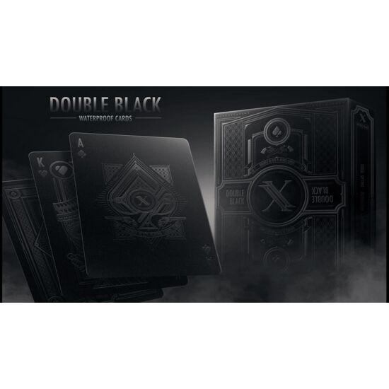 Double Black Waterproof (100% műanyag) kártya