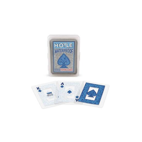 Hoyle Clear Plastic kártya, 1 csomag