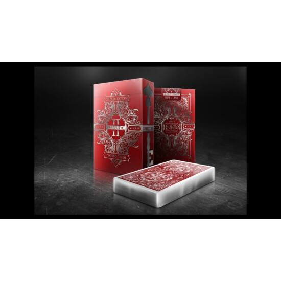 Spirit II MetalLux Red (Gilded Edition) kártya