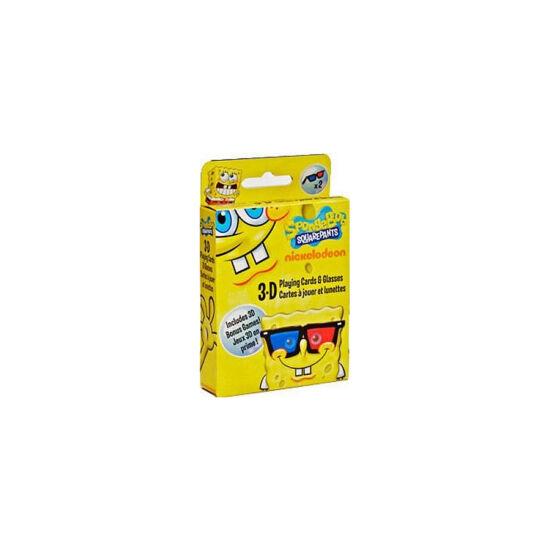 Spongyabob 3D kártya