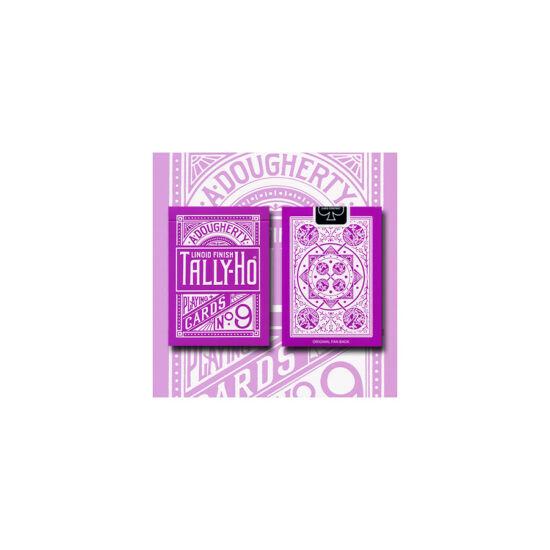 Tally-Ho Fan Back kártya - Levendula