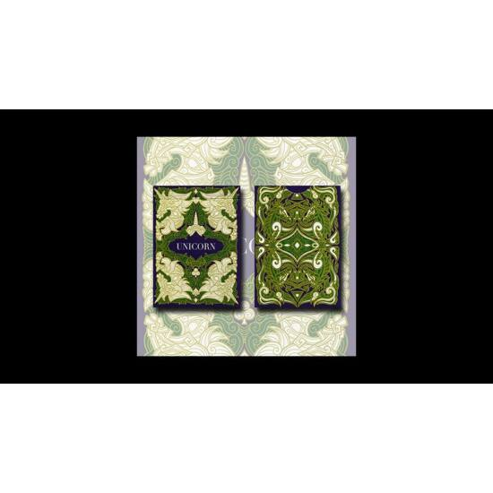 Unicorn kártya (Emerald) by Aloy Design Studio