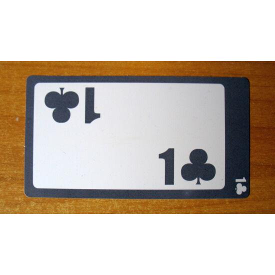 1 Club Card - 100% plastic (Lion licitkártya készlethez, 1 treff lap)
