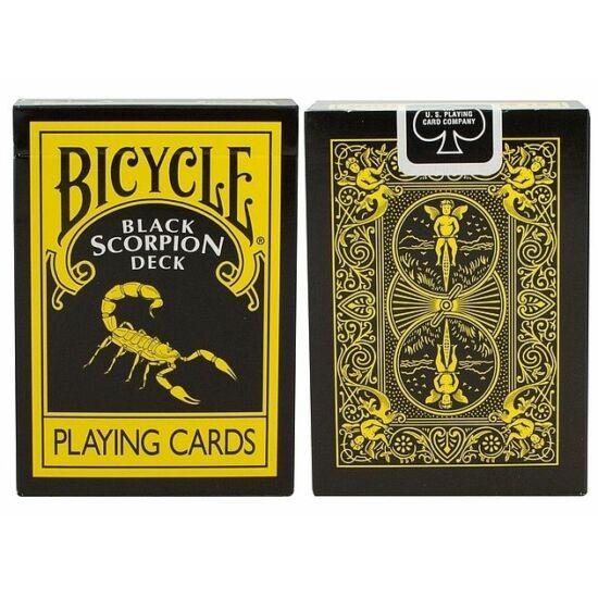 Bicycle Black Scorpion kártya