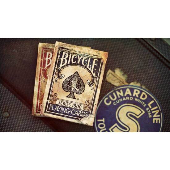 Bicycle Marked (jelölt) Vintage 1800 kártya, 1 csomag