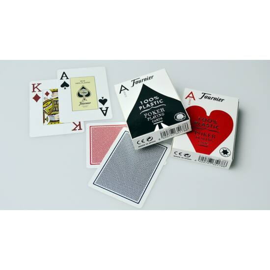 Fournier 2800, Jumbo Index póker kártya, 1 csomag