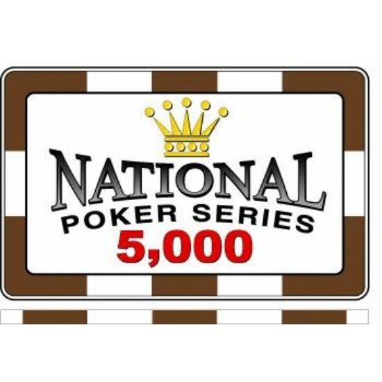 Paulson National Poker Series Chip - plakett/5000 (1 db)