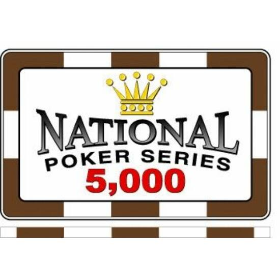 Paulson National Poker Series Chip - plakett/5000 (1 db)