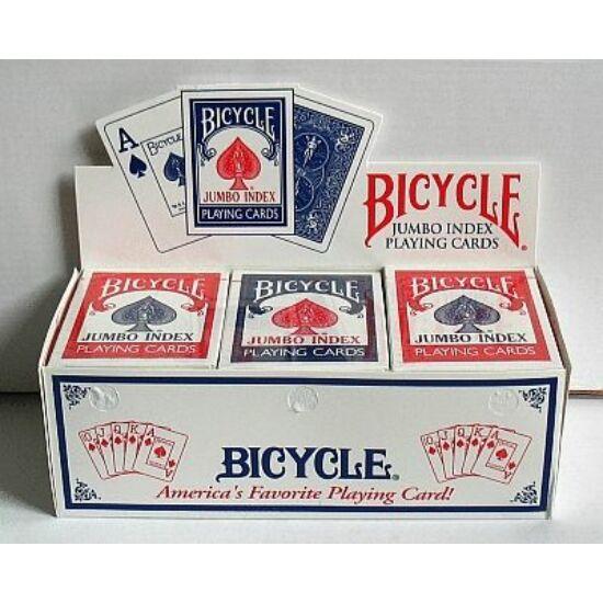 Bicycle 88 Rider Back - póker kártya, Jumbo index, 1 karton (12 csomag)
