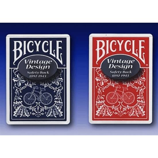 Bicycle Vintage, Safety back kártya (Limited Edition Series No. 3), 1 csomag