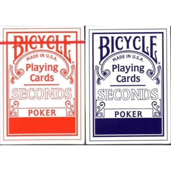 Bicycle Seconds póker kártya, 1 csomag