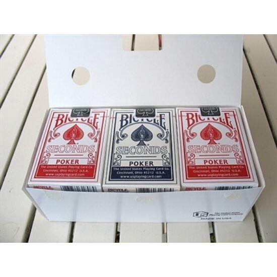 Bicycle Seconds póker kártya, 1 karton (12 csomag)