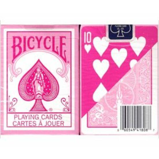 Bicycle Fashion Color (Reversed Deck) kártya - Pink, 1 csomag