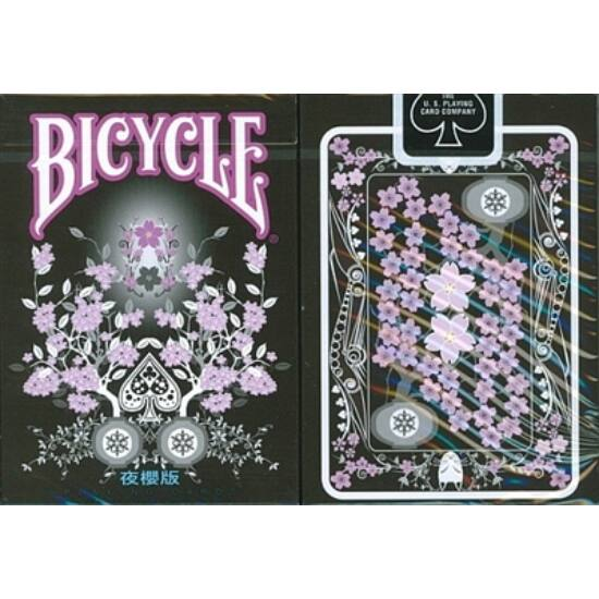 Bicycle Transducer Deck - Night Sakura Edition kártya, 1 csomag