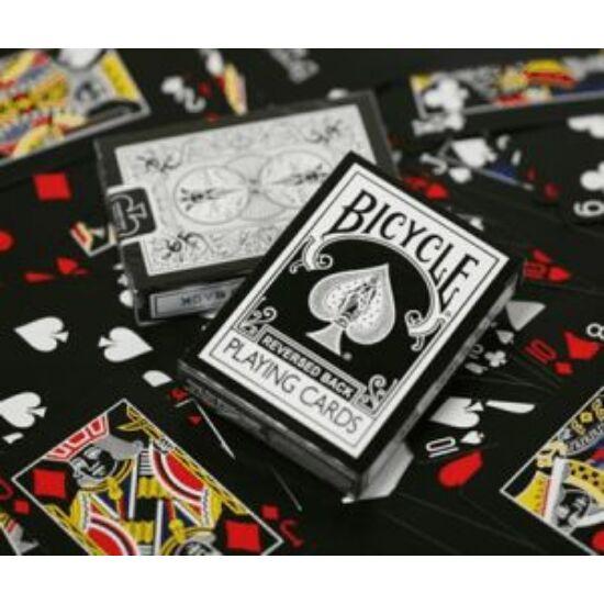 Bicycle Black Deck, Reversed Back kártya, 1 csomag