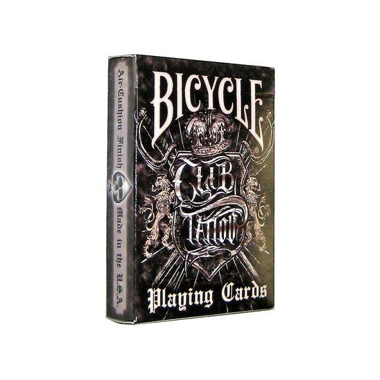 Bicycle Club Tattoo kártya, 1 csomag