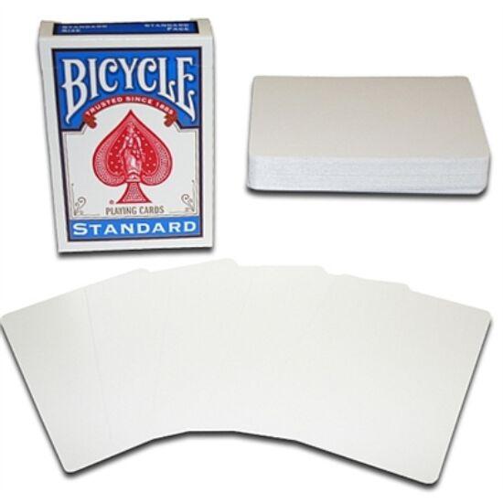 Bicycle kártya, üres képoldal, üres hátoldal