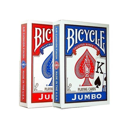 Bicycle 88 Rider Back - póker kártya, Jumbo index, dupla csomag