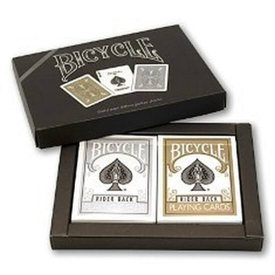 Bicycle Gold & Silver -
