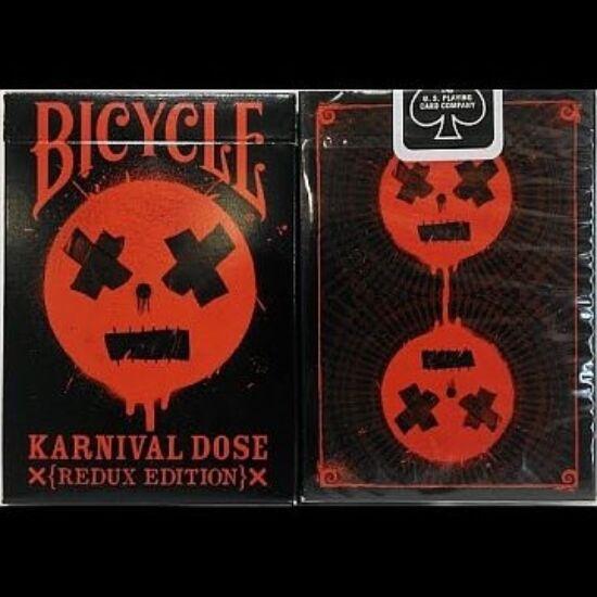Bicycle Karnival DOSE RED kártya, 1 csomag
