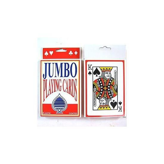 Jumbo Playing Cards, 1 csomag