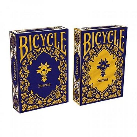 Bicycle Surena Deck - Gold and Navy, dupla csomag