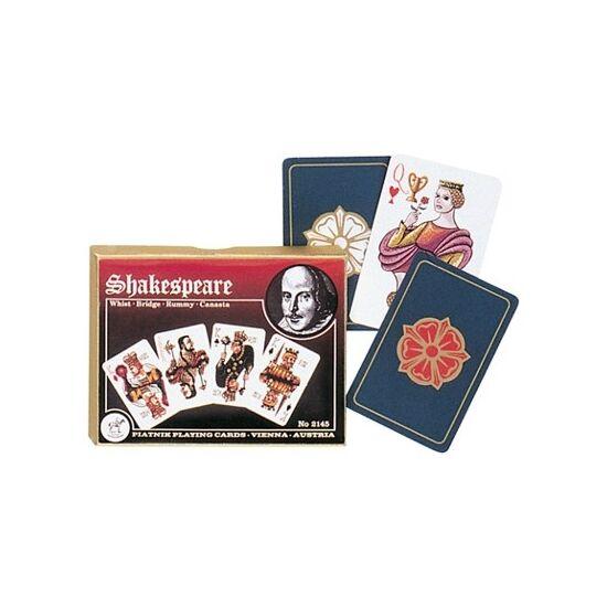 Shakespeare, luxus bridzs/römi kártya, dupla csomag