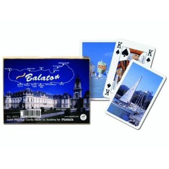 Balaton, luxus bridzs/römi kártya, dupla csomag